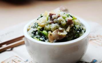 咸肉菜飯骨頭湯