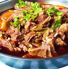 紅油羊肉鍋
